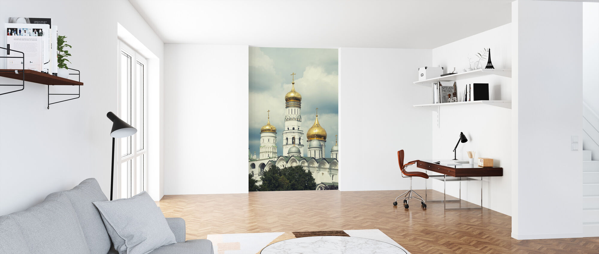 Ivan the Great Bell Tower in Moscow - Wallpaper - Office