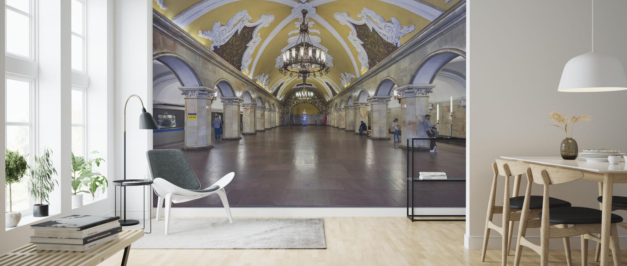 Komsomolskaya Station, Moscow - Wallpaper - Living Room