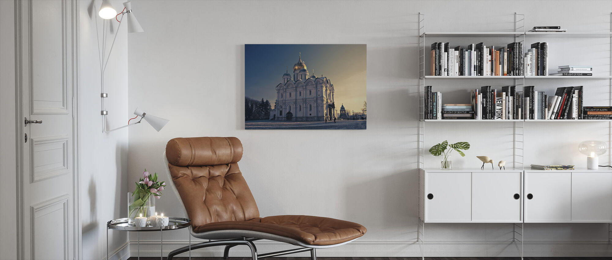 Cathedral of the Archangel - Canvas print - Living Room