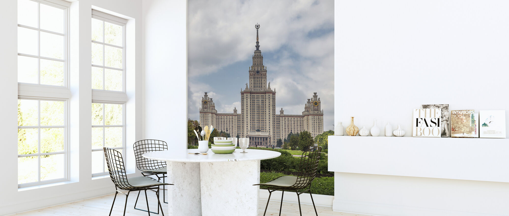 Lomonosov Moscow State University - Wallpaper - Kitchen