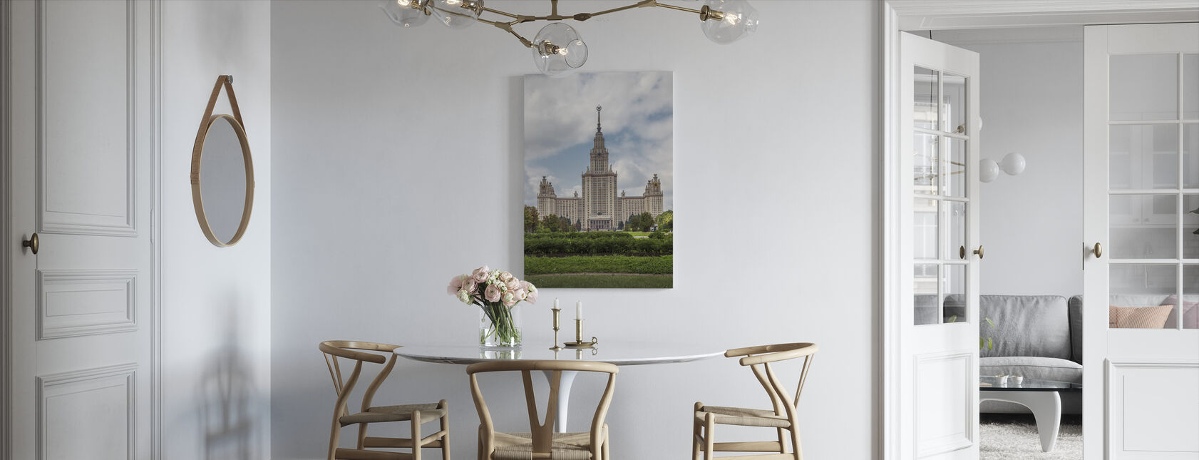 Lomonosov Moscow State University - Canvas print - Kitchen