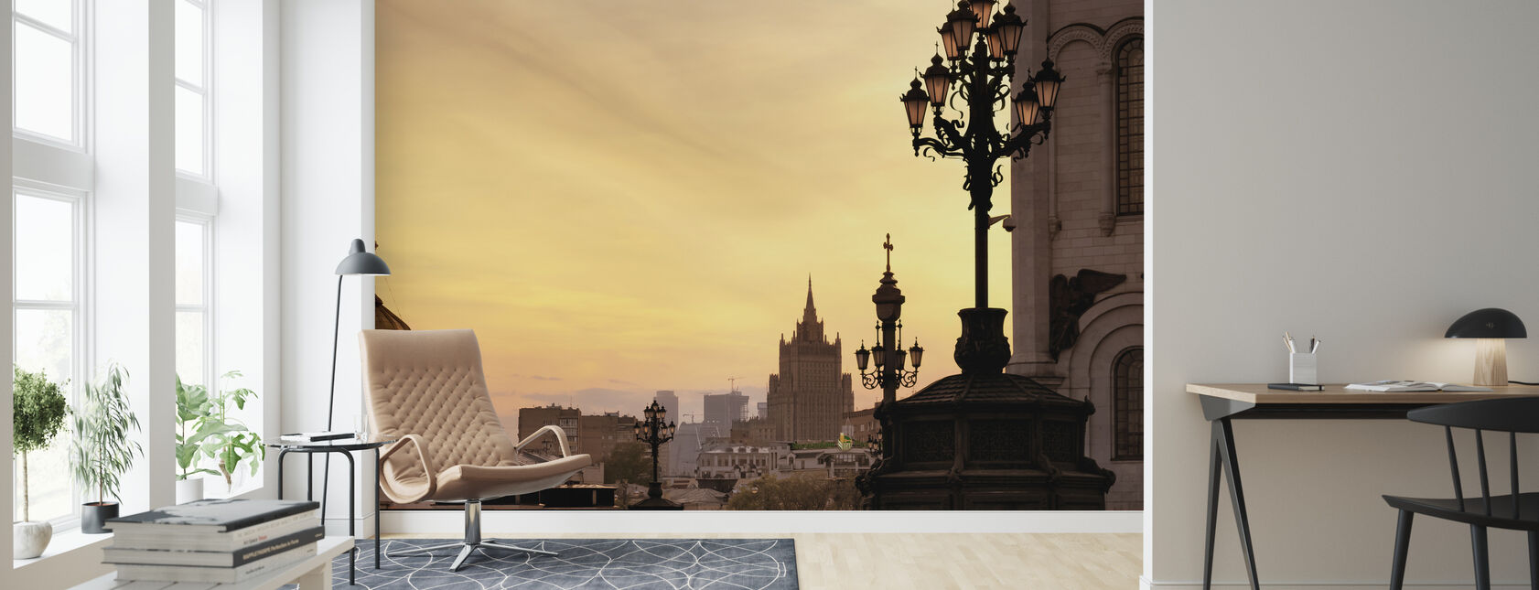 Mit Gyldne Moskva - Tapet - Stue