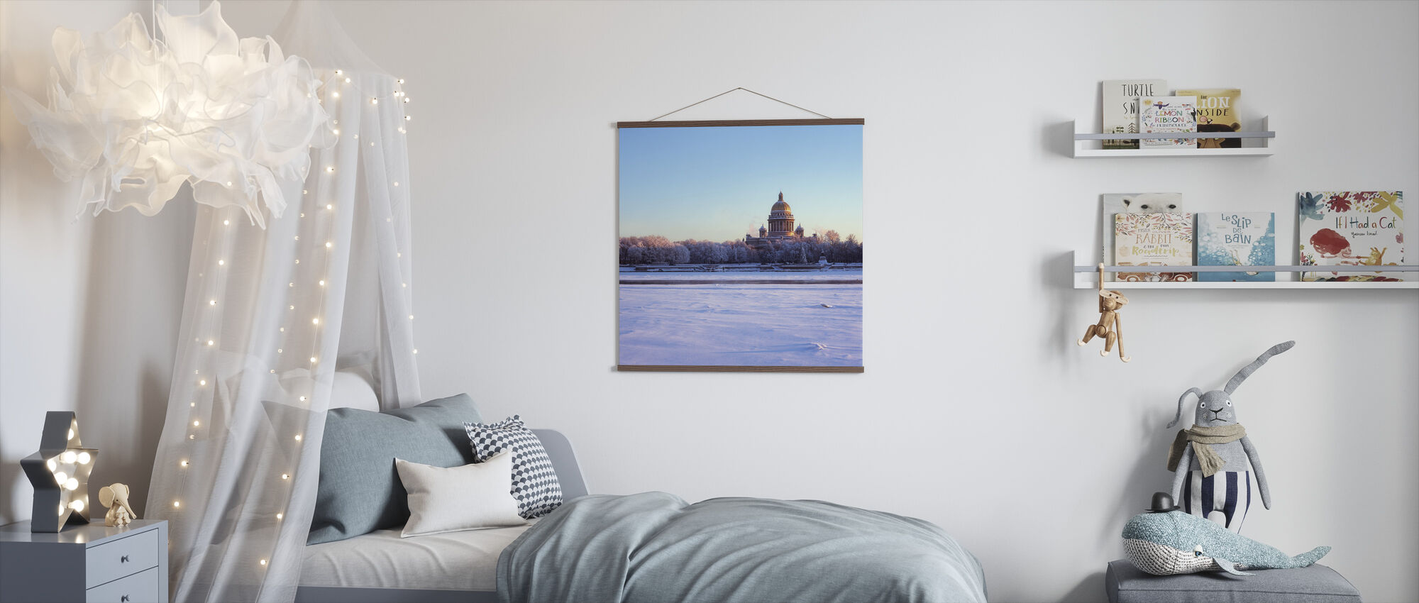 Frozen River Neva - Poster - Kids Room