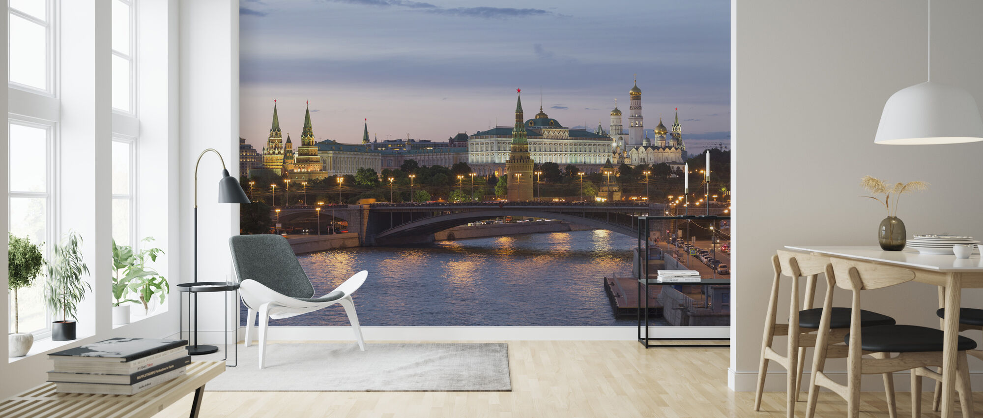 Heart of Moscow - Wallpaper - Living Room