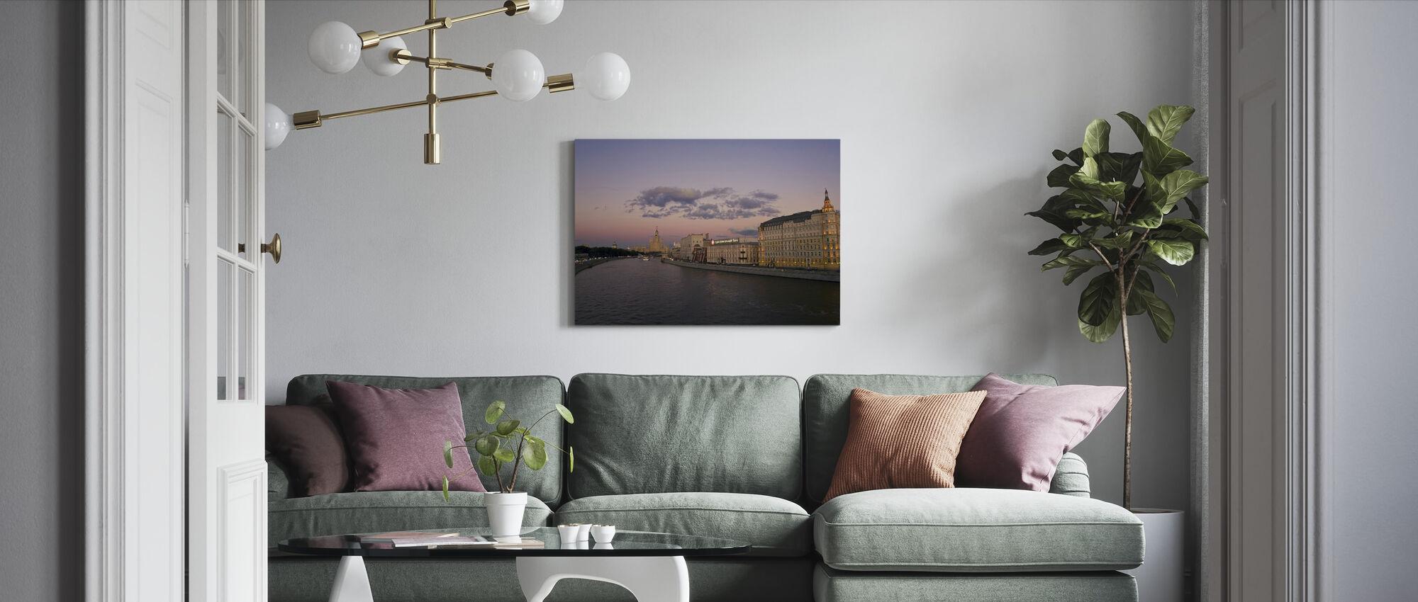 Kotelnicheskaya Embankment Apartments - Canvas print - Living Room