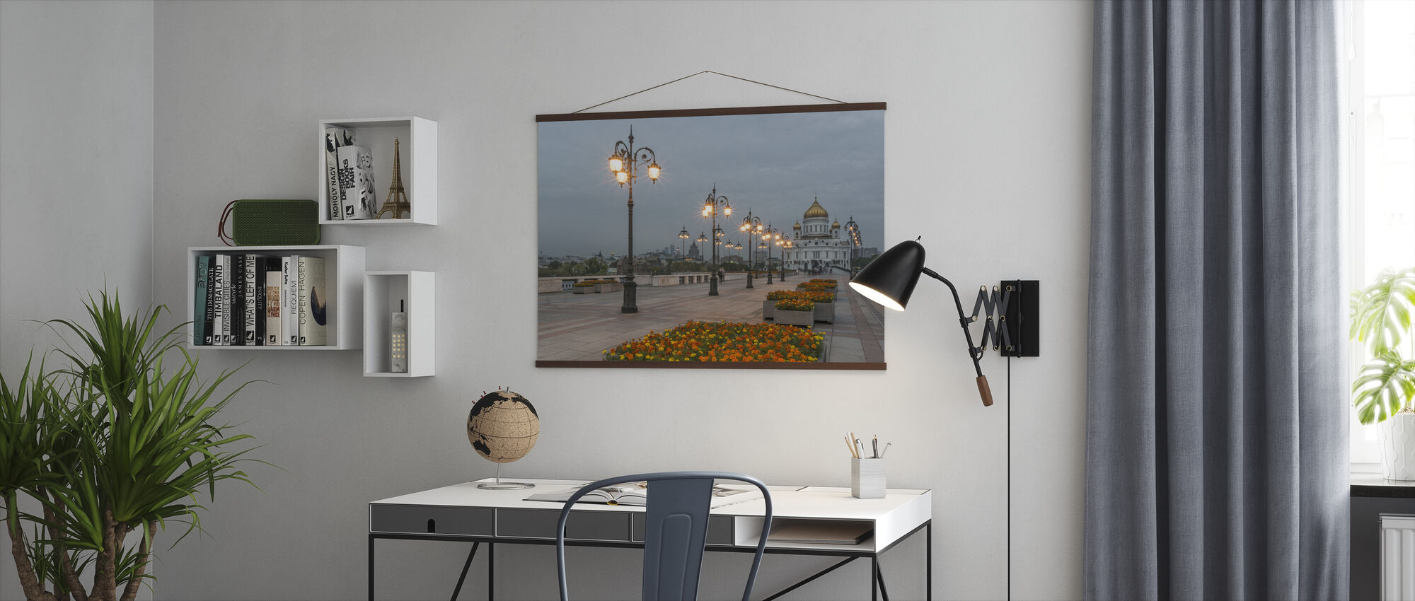 Lights to Christ the Saviour Cathedral - Poster - Office
