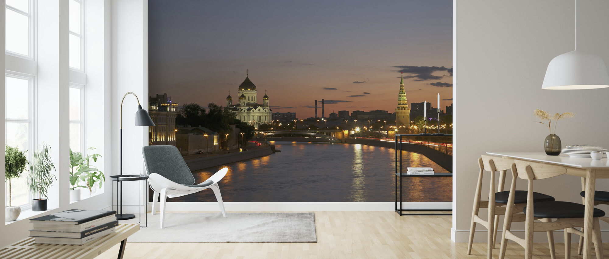 Moscow River - Wallpaper - Living Room