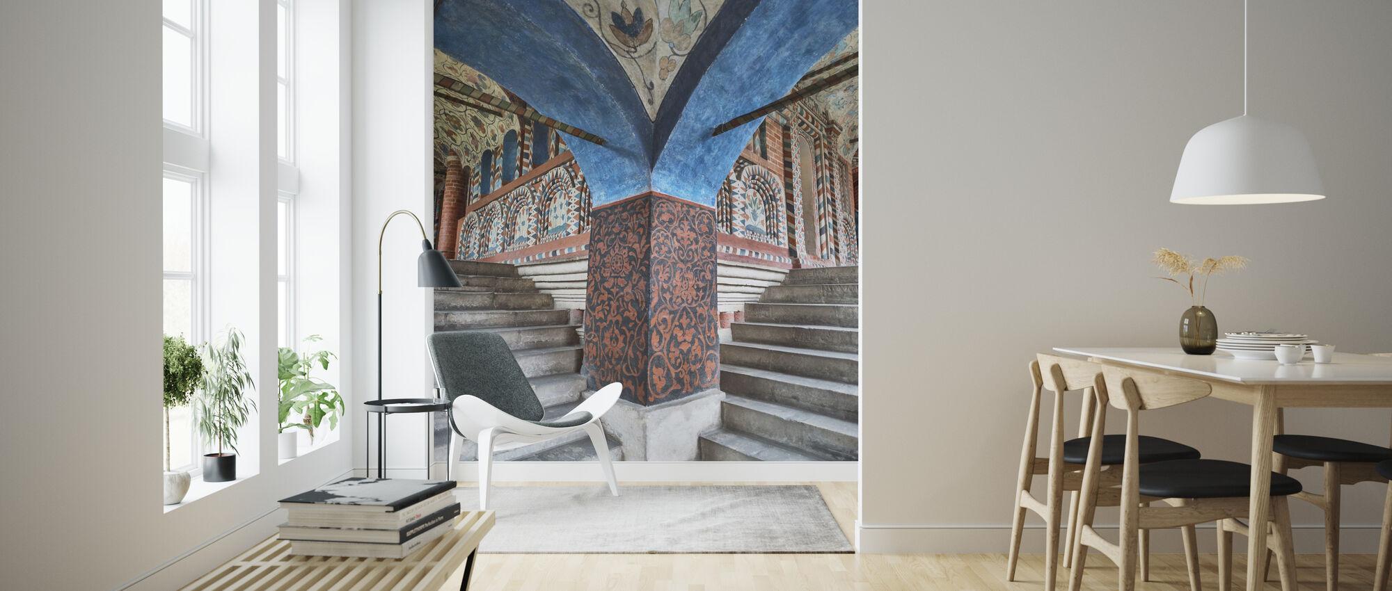 Schritte in die Basilius-Kathedrale - Tapete - Wohnzimmer