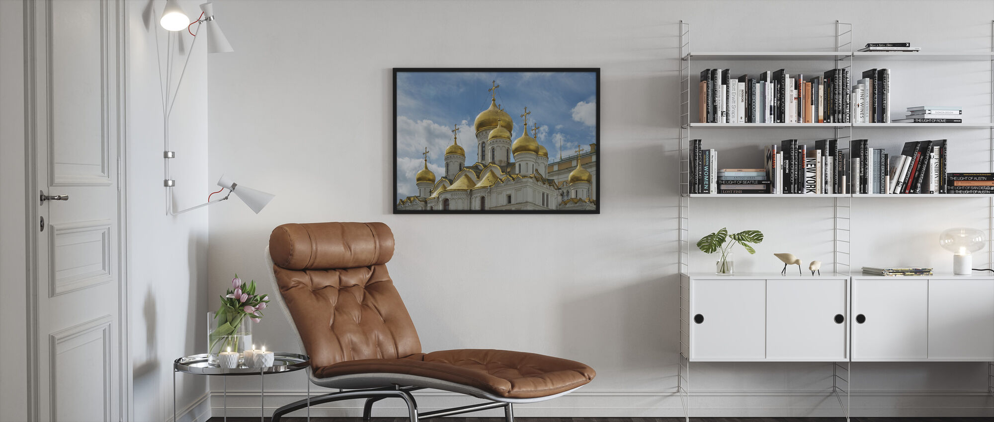 The Cathedral of the Annunciation - Framed print - Living Room