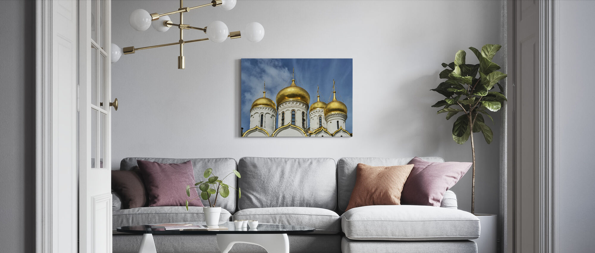 The Cathedral of the Dormition - Canvas print - Living Room
