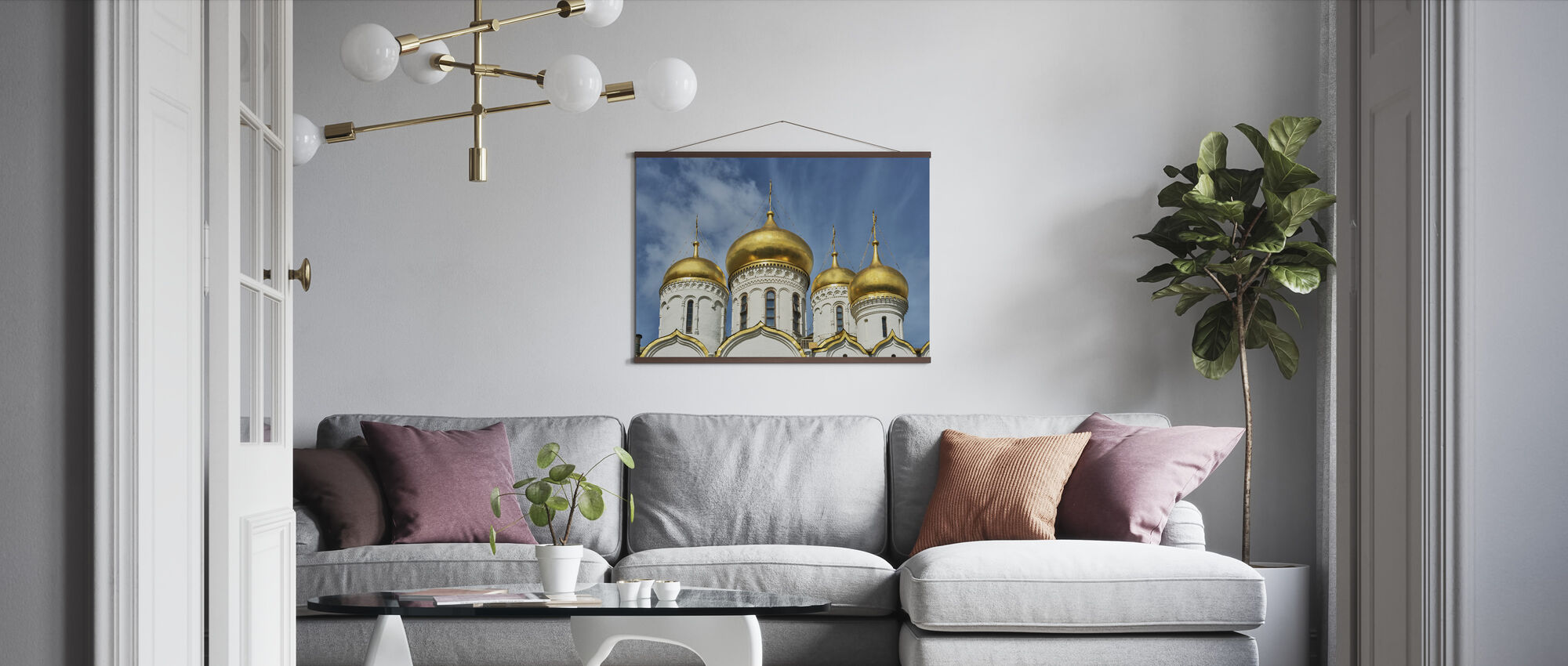 The Cathedral of the Dormition - Poster - Living Room