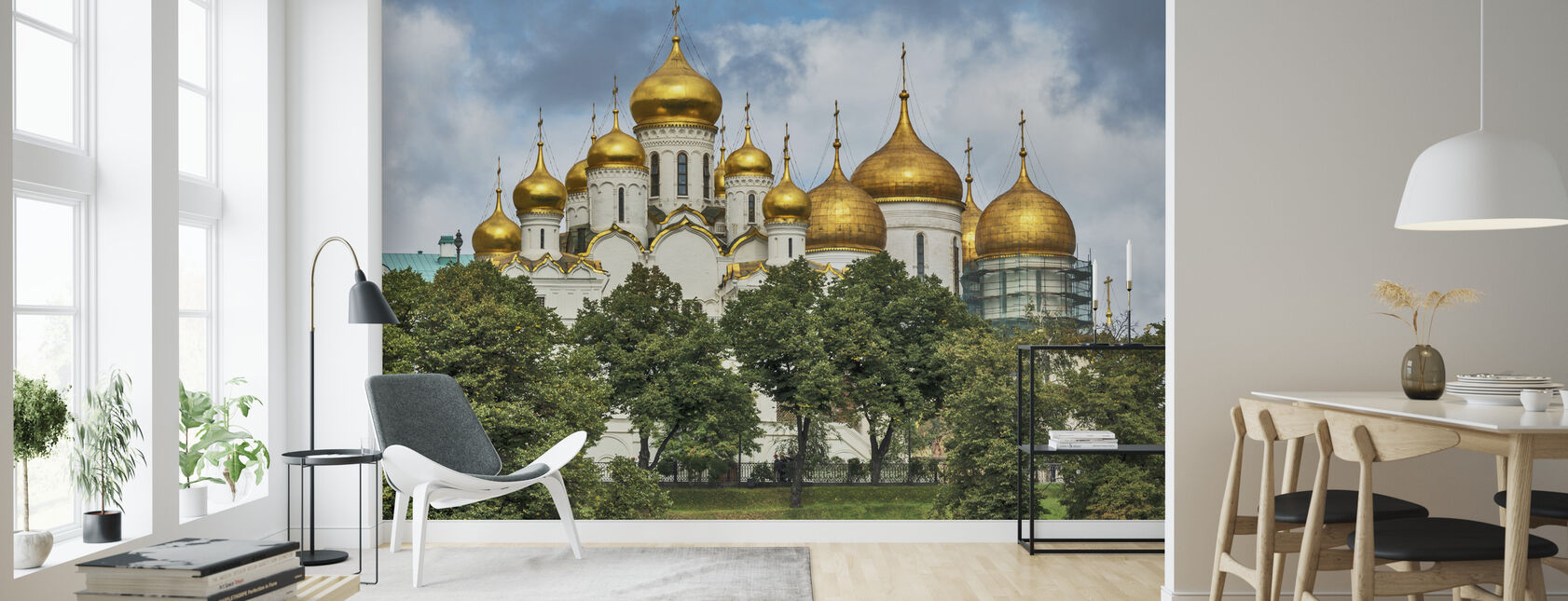 The Kremlin Cathedrals - Wallpaper - Living Room