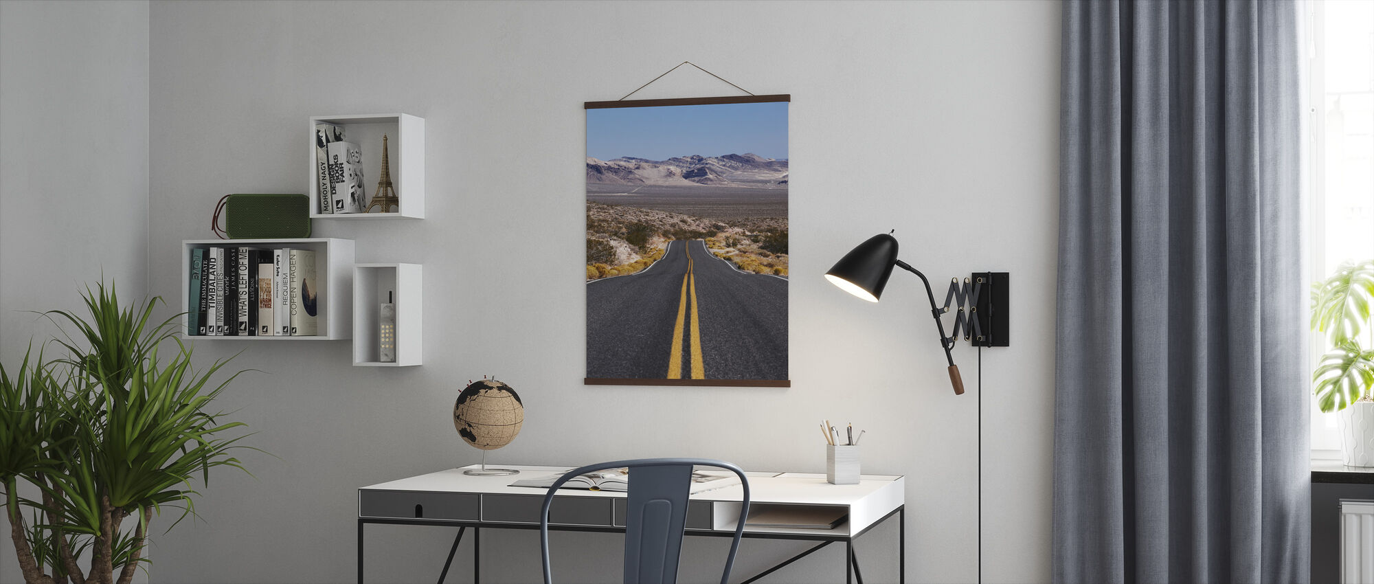 Death Valley Highway - Poster - Office