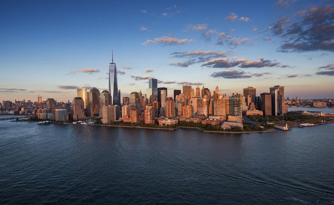 Freedom Tower New York Kostenlos Gelieferte Fototapete Von