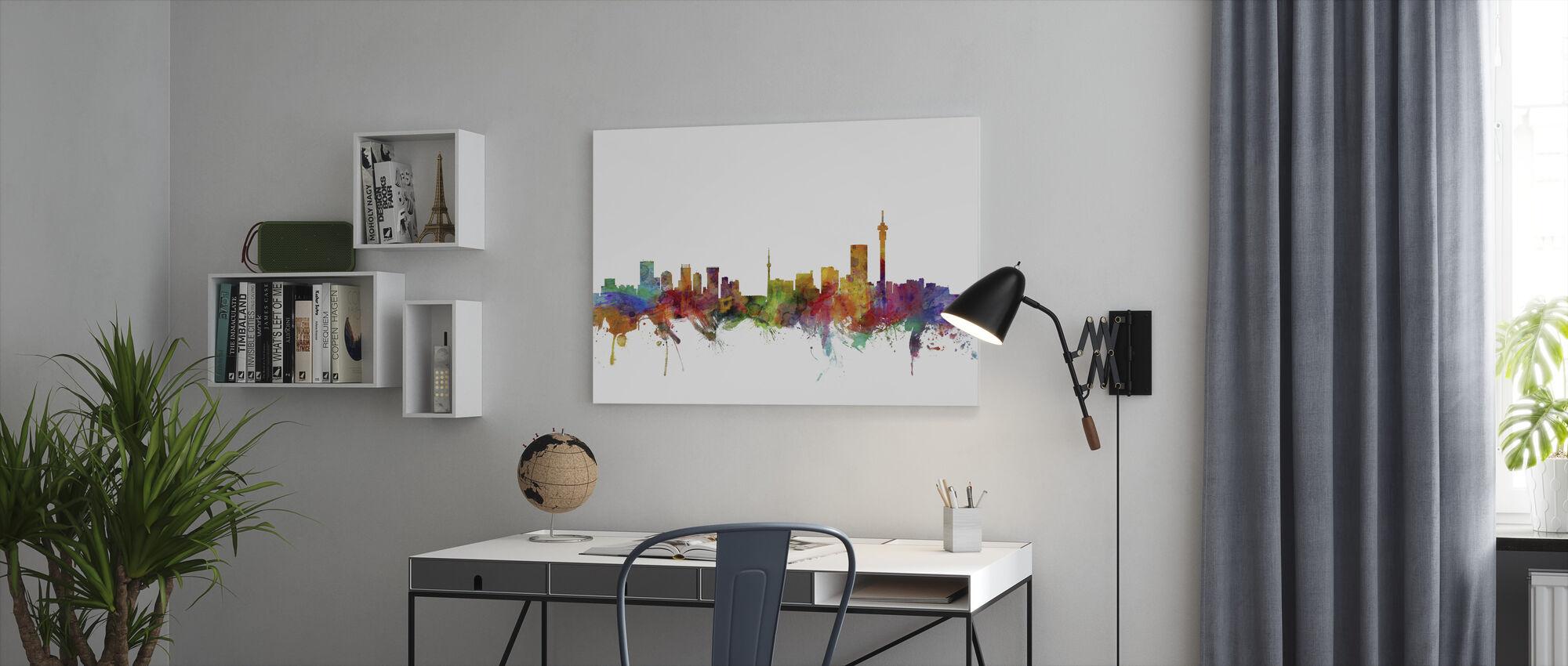 Johannesburg South Africa Skyline - Canvas print - Office
