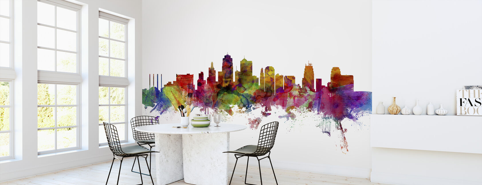 Kansas City Skyline - Wallpaper - Kitchen