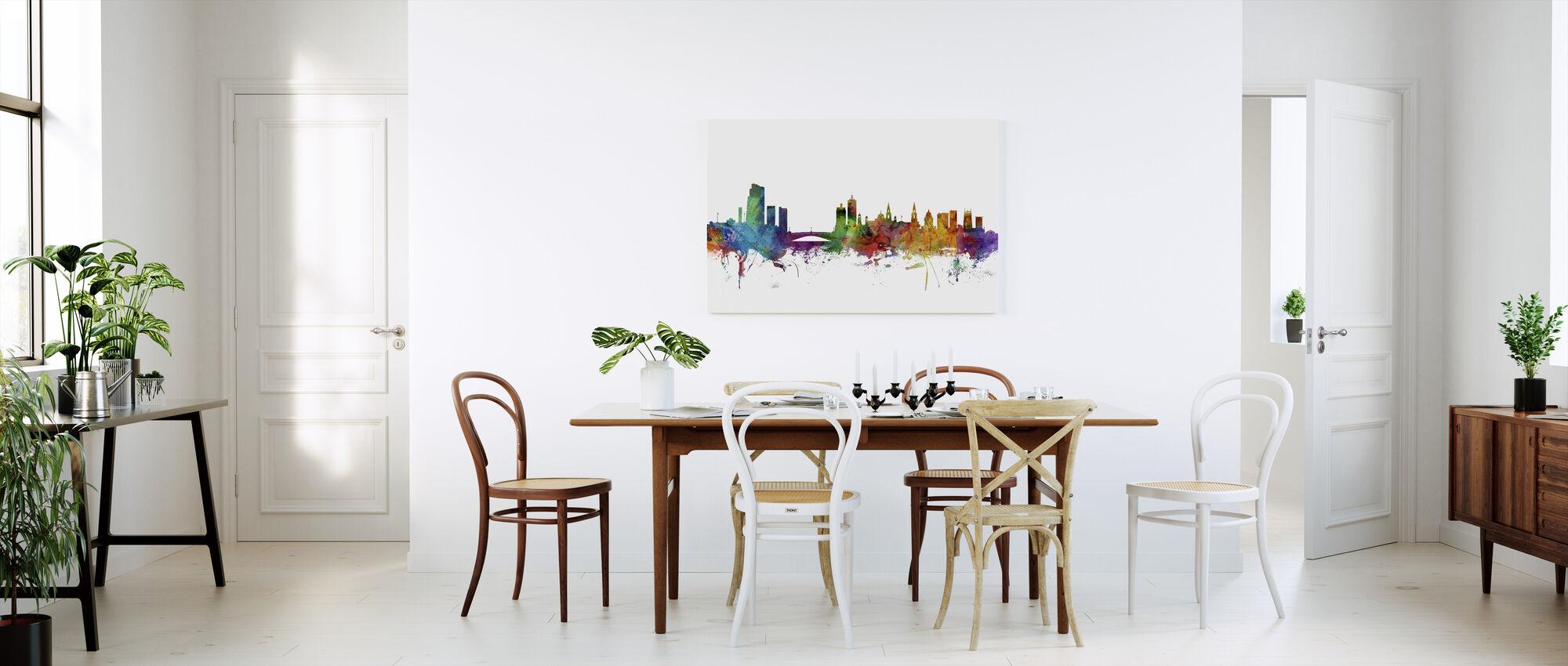 Leeds England Skyline - Canvas print - Kitchen