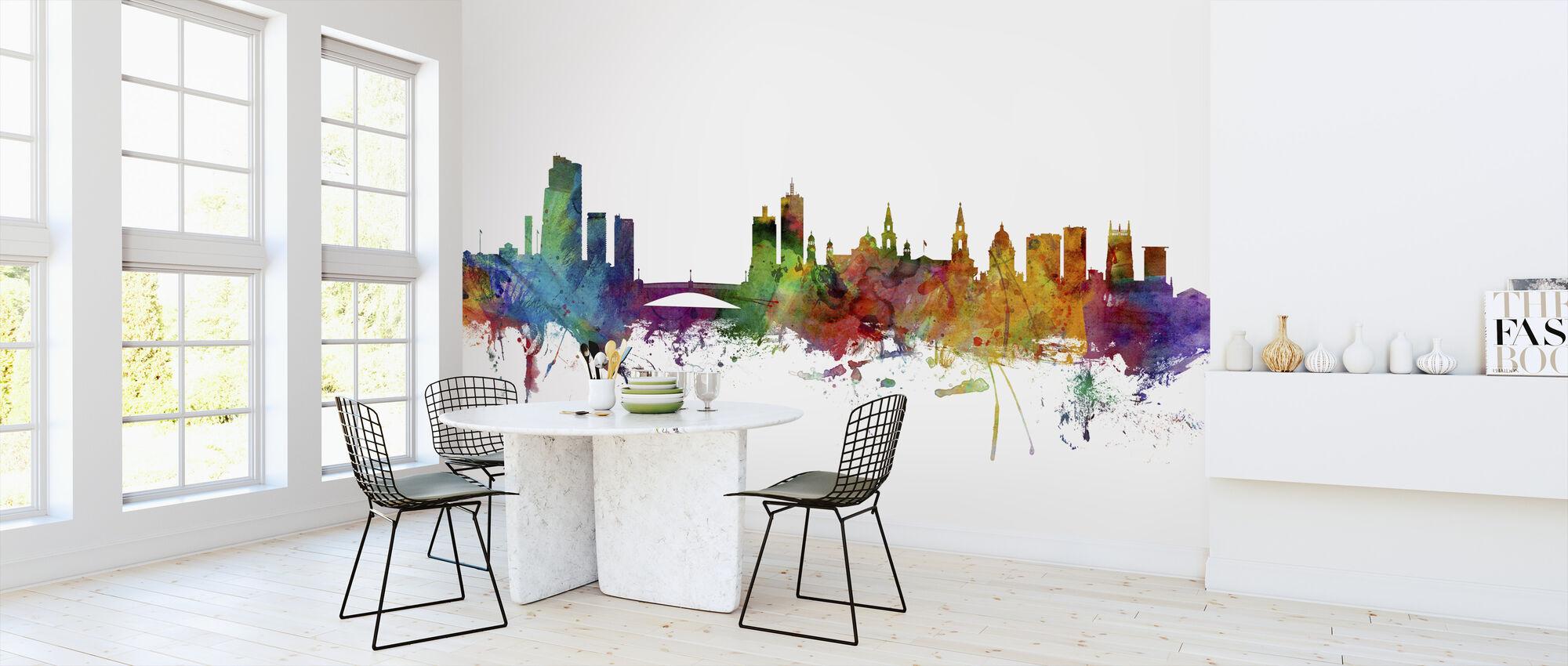 Leeds England Skyline - Wallpaper - Kitchen