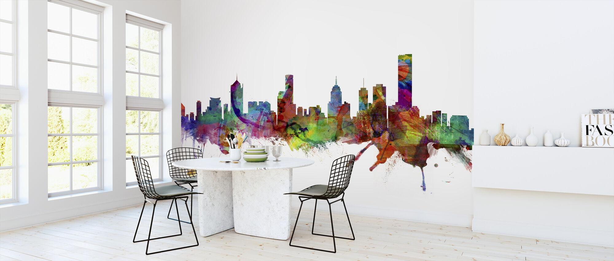 Melbourne Skyline - Wallpaper - Kitchen