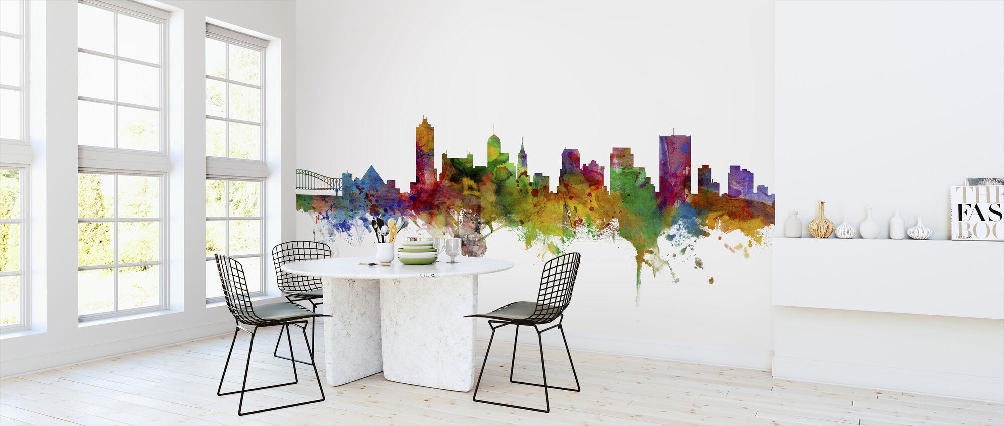 Memphis Tennessee Skyline - Wallpaper - Kitchen