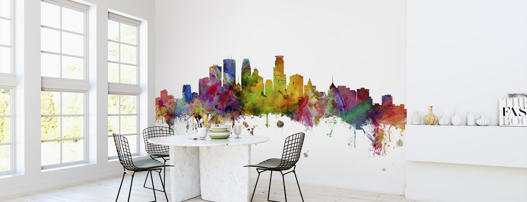 Minneapolis Minnesota Skyline - Wallpaper - Kitchen