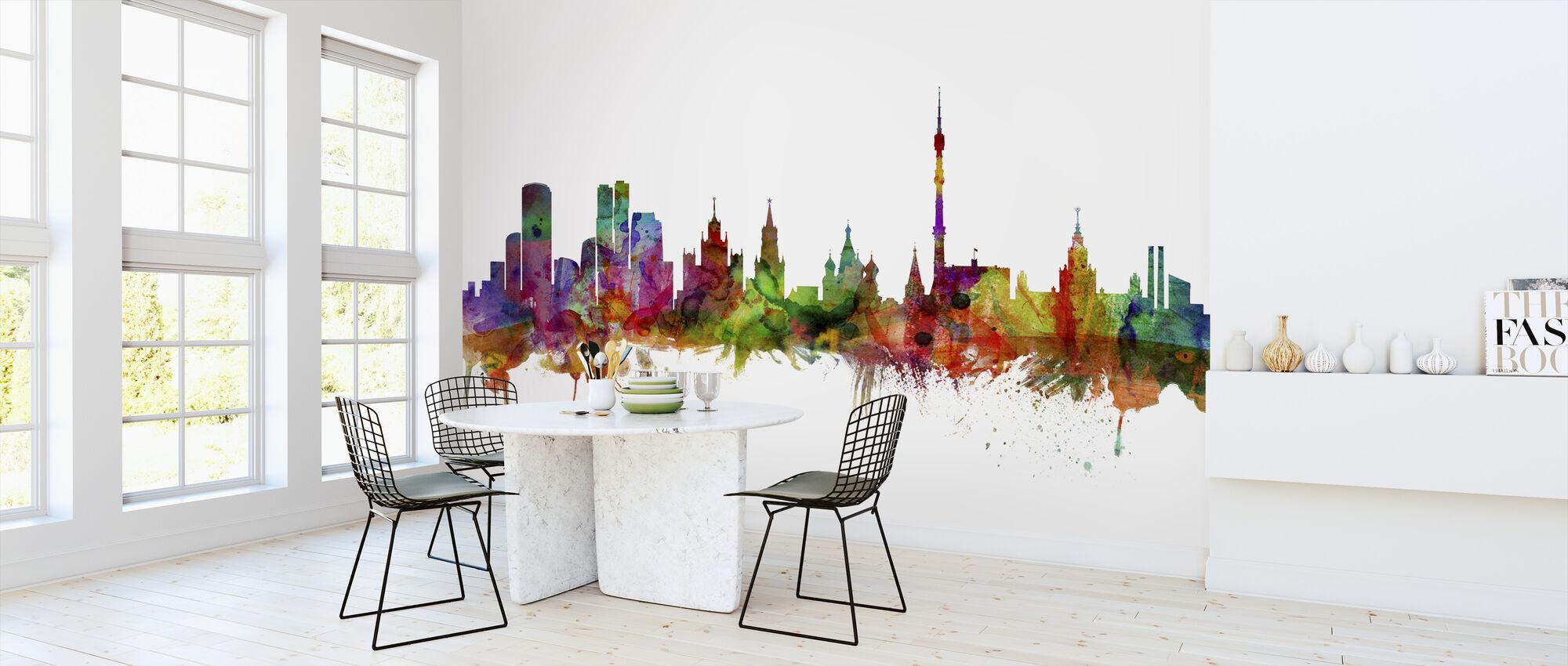Moscow Skyline - Wallpaper - Kitchen