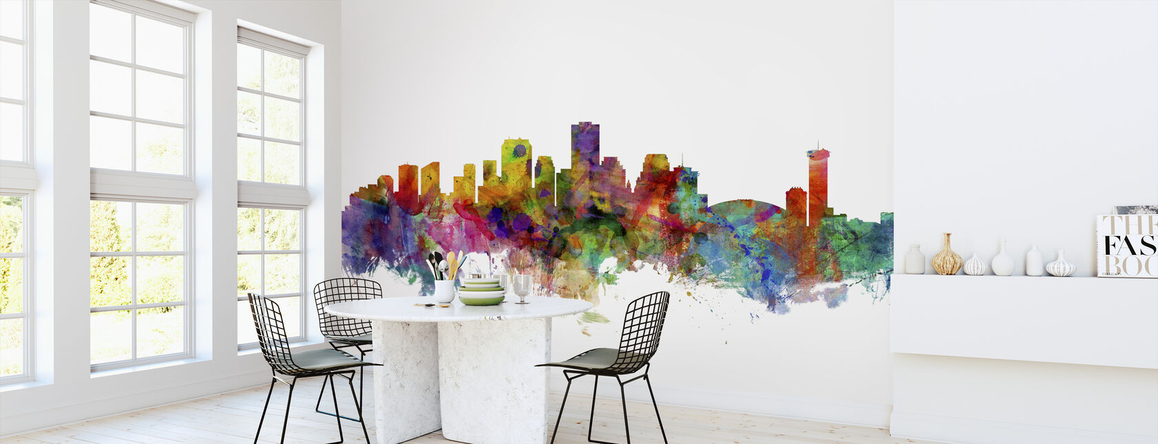 New Orleans Louisiana Skyline - Wallpaper - Kitchen