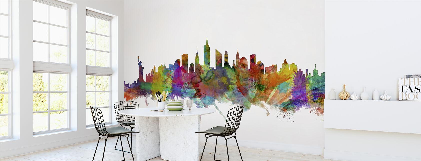 New York Skyline 2 - Behang - Keuken