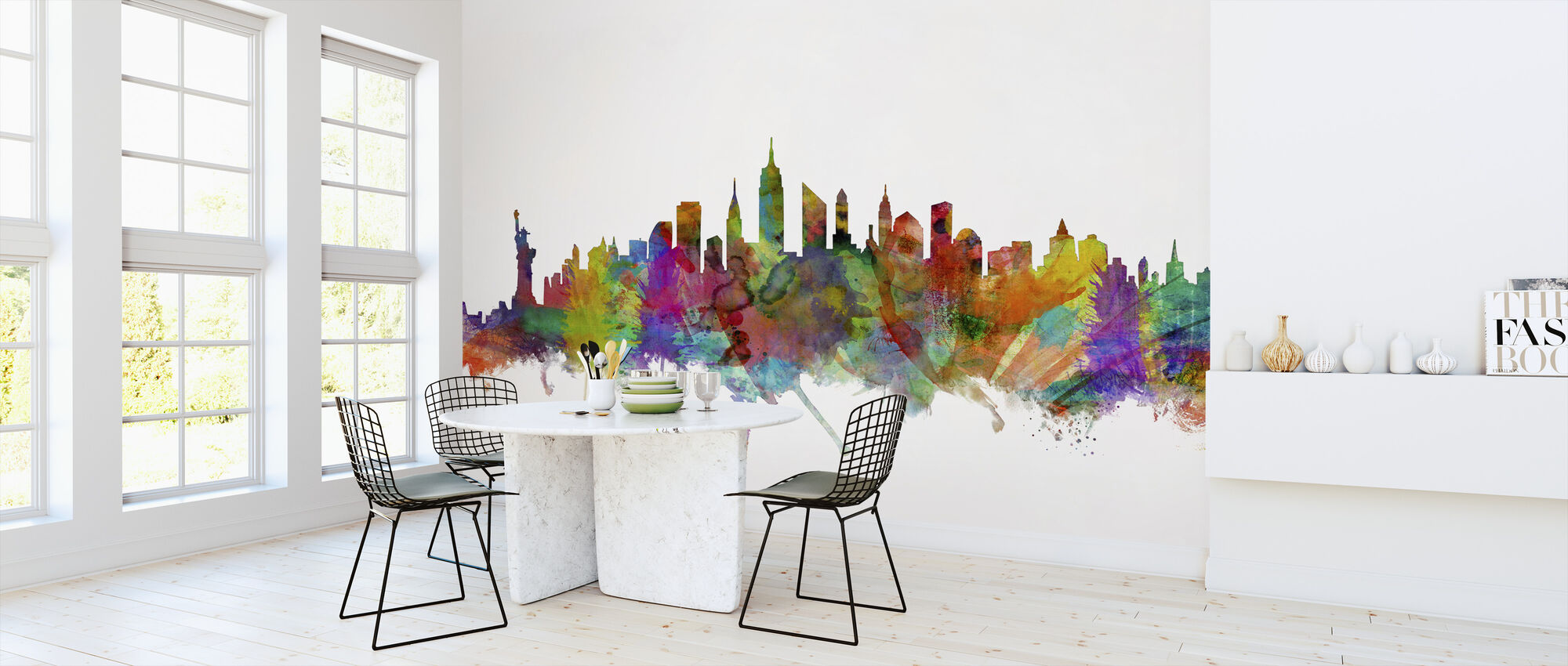 New York Skyline 2 - Wallpaper - Kitchen