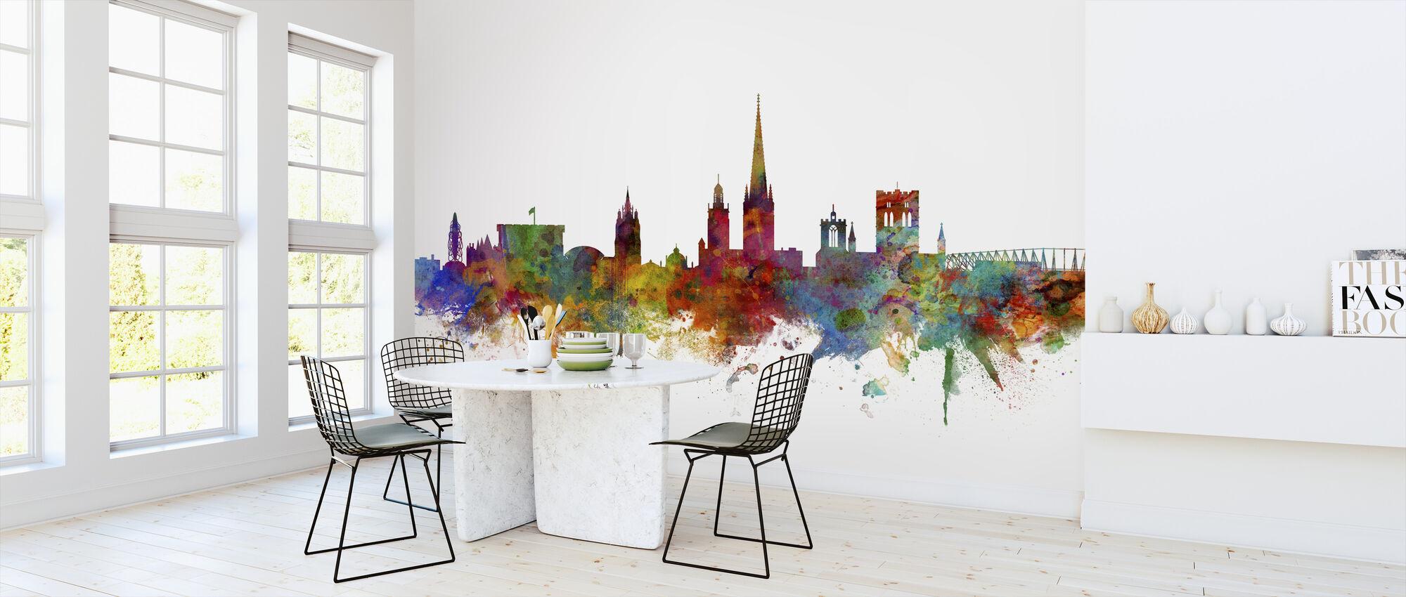 Norwich England Skyline - Wallpaper - Kitchen