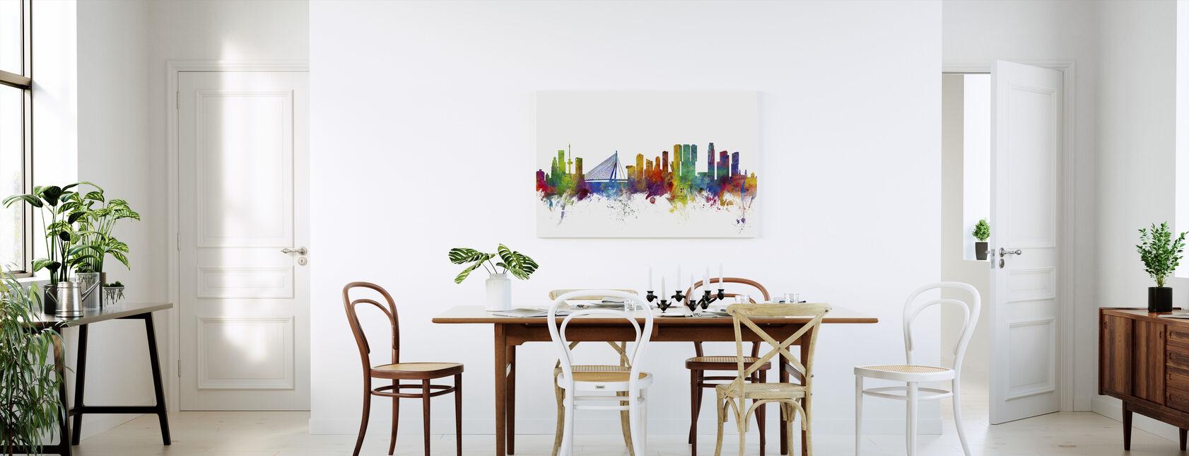 Rotterdam Skyline - Canvas print - Keuken