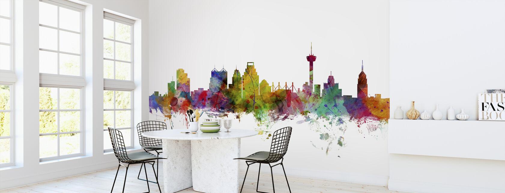 San Antonio Texas Skyline - Wallpaper - Kitchen