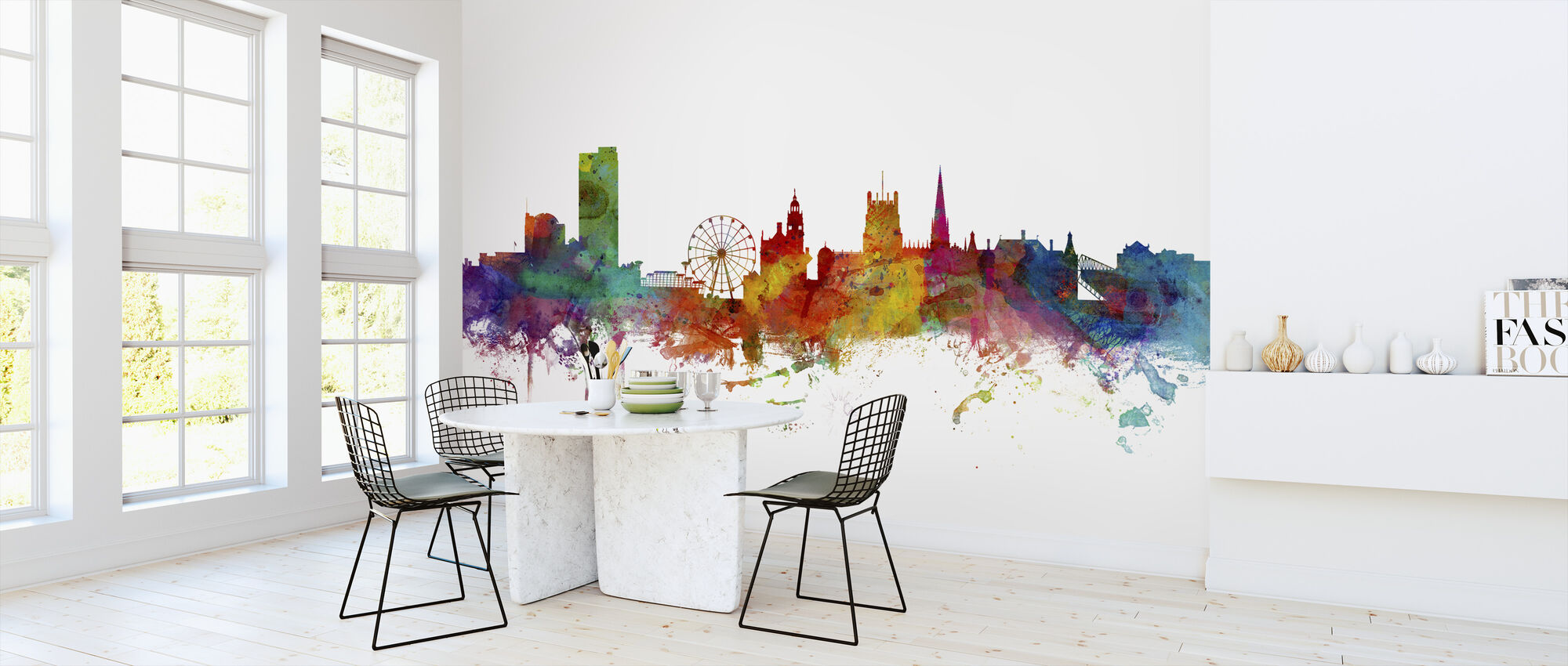 Sheffield England Skyline - Wallpaper - Kitchen