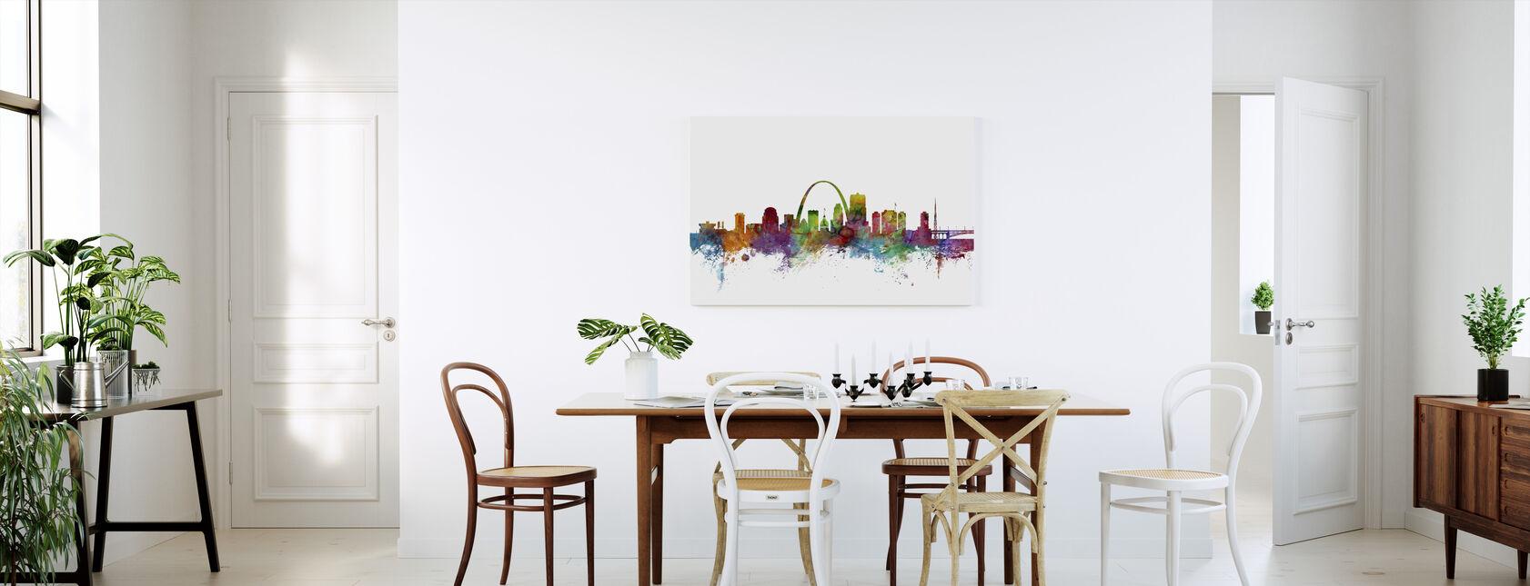St Louis Missouri Skyline - Canvas print - Kitchen