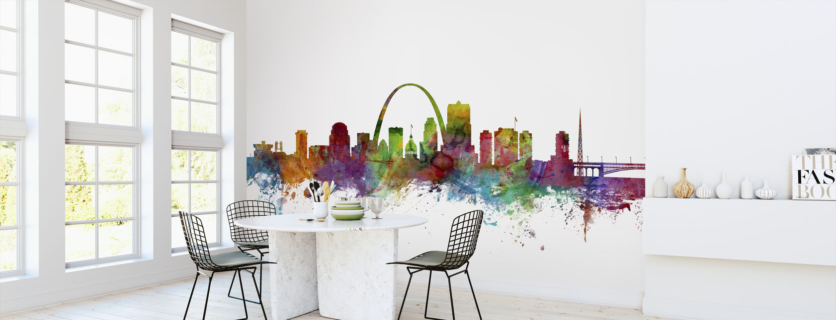 St Louis Missouri Skyline - Wallpaper - Kitchen