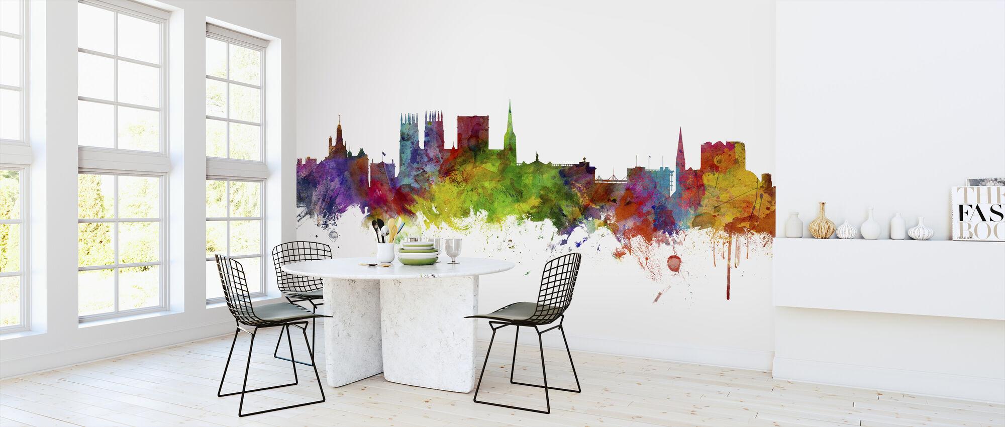 York England Skyline - Wallpaper - Kitchen