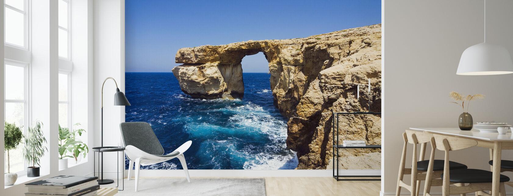 Azure Window - Wallpaper - Living Room
