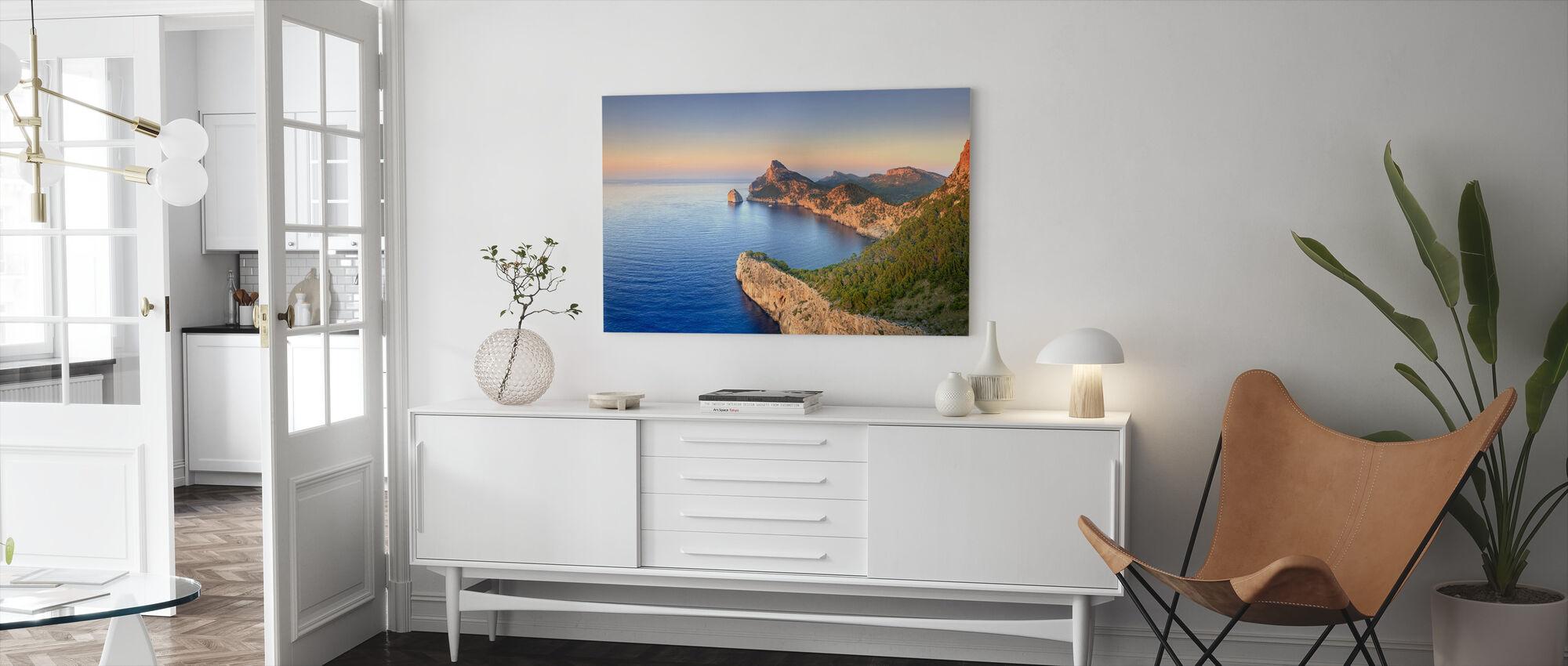 Cap de Formentor, Mallorca - Canvas print - Living Room