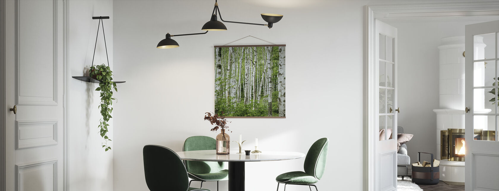 Summer Birch Trees - Poster - Kitchen