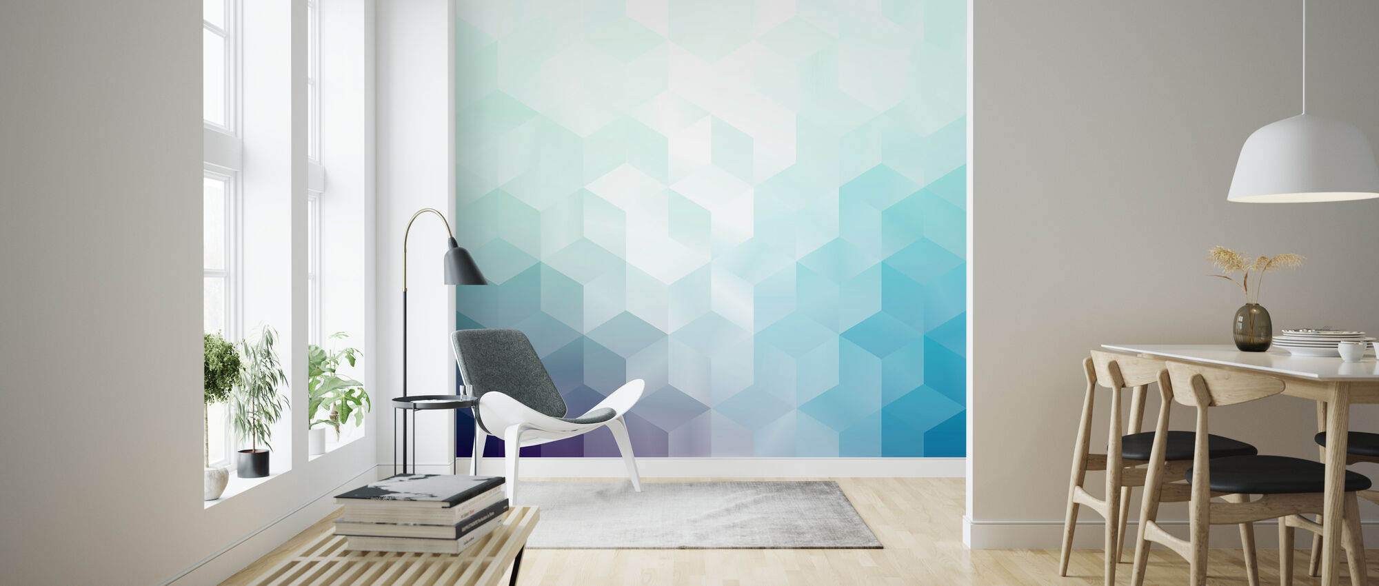 Cool Abstract Pattern - Wallpaper - Living Room
