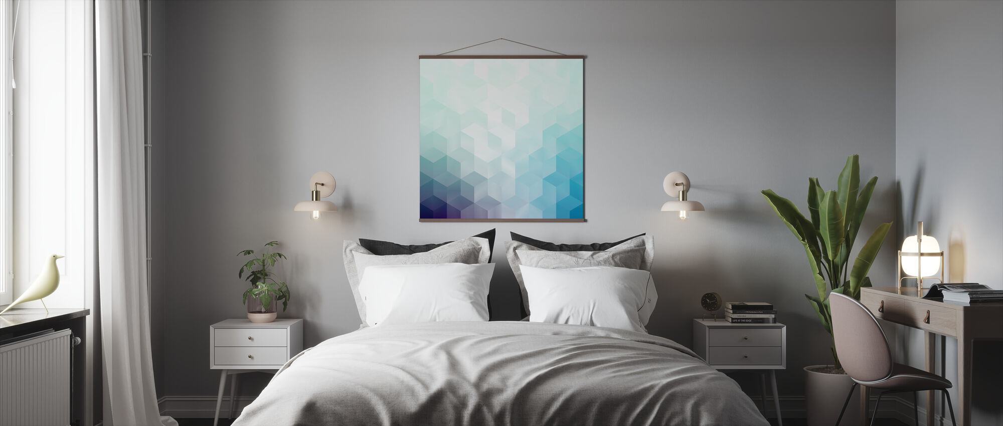 Cool Abstract Pattern - Poster - Bedroom
