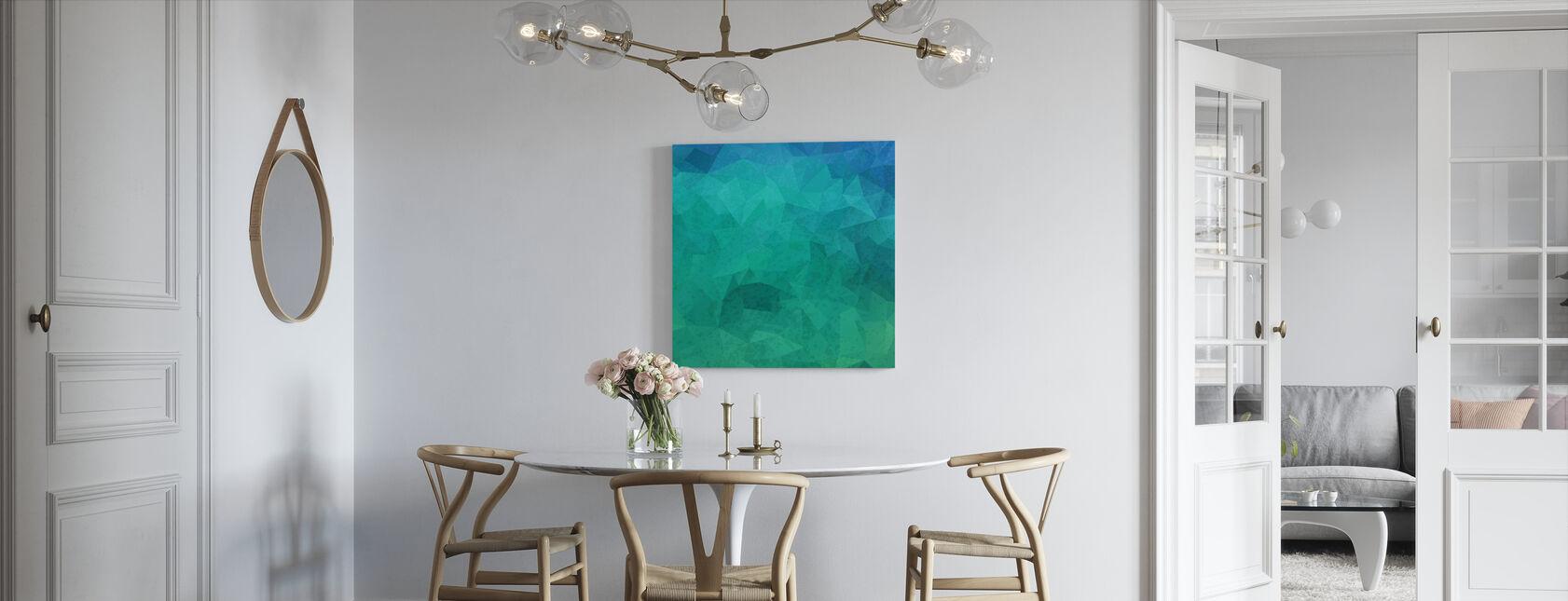 Geometric Hipster - Canvas print - Kitchen