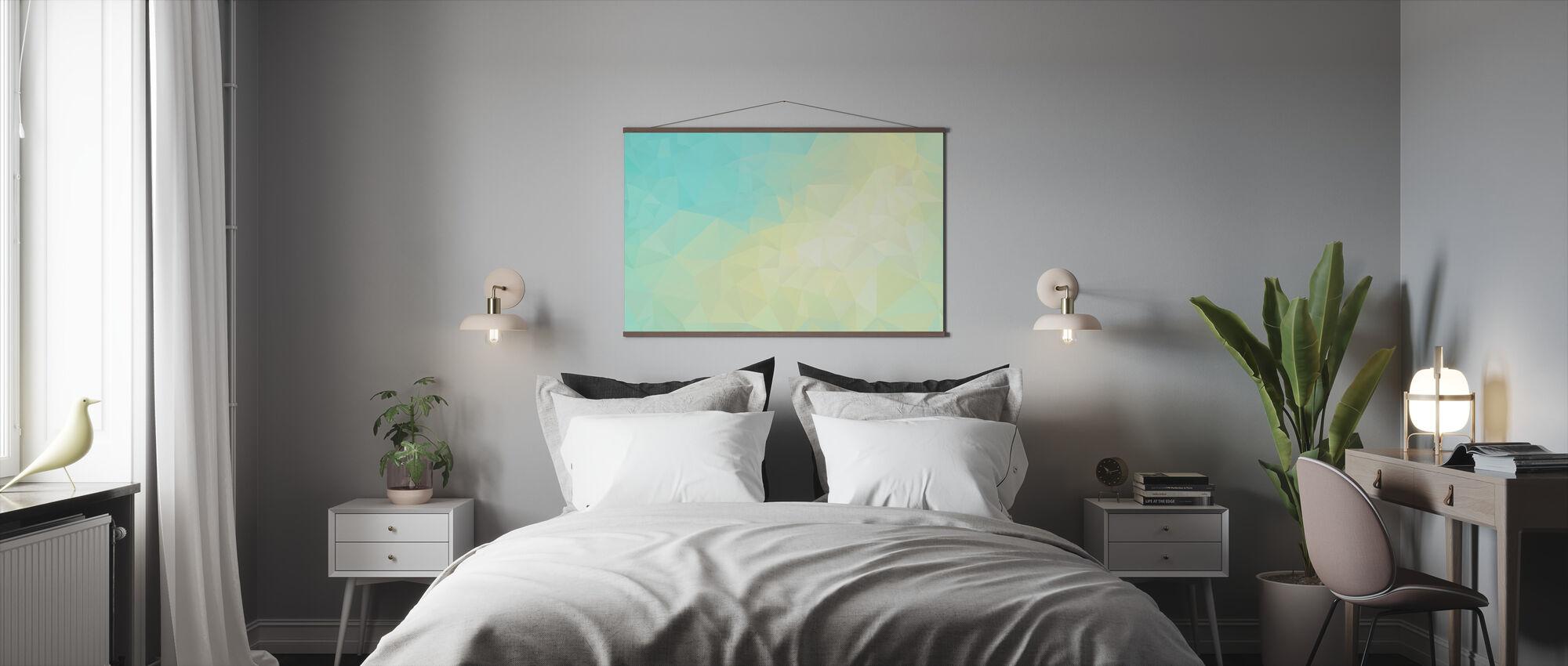 Geometric Sunshine - Poster - Bedroom