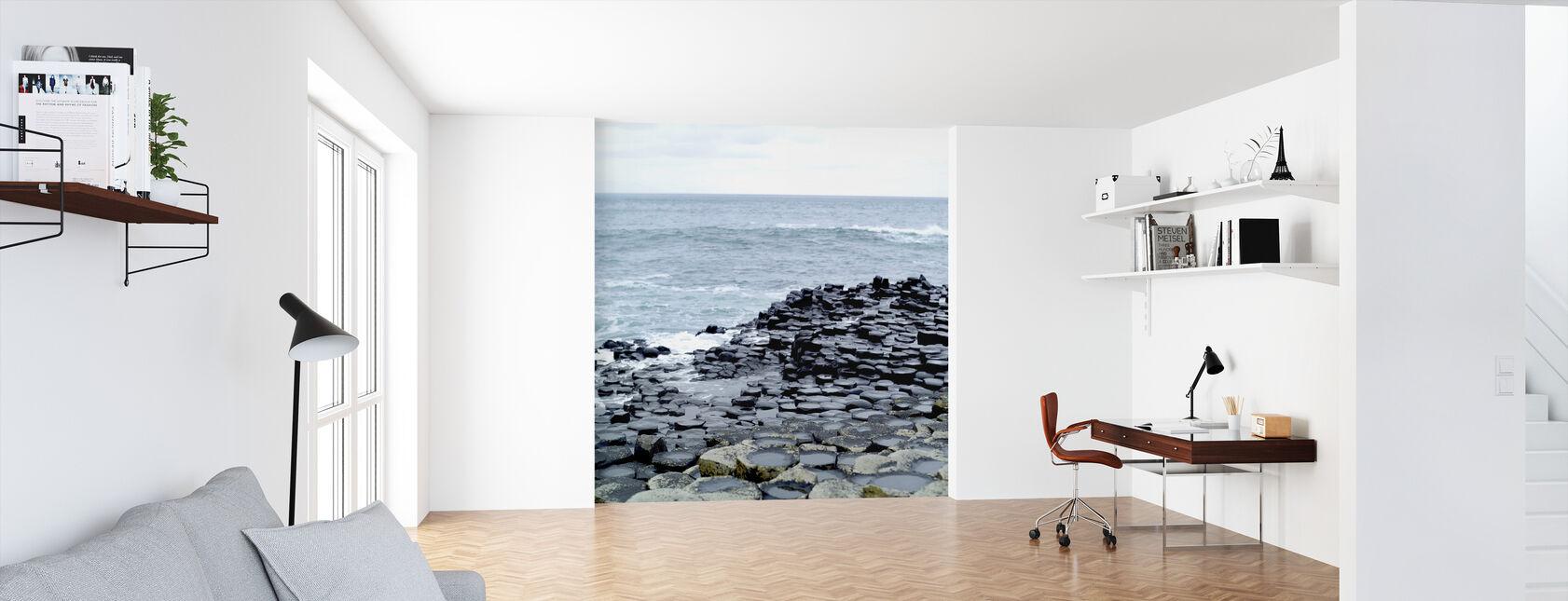 Giants Causeway in Antrim - Wallpaper - Office
