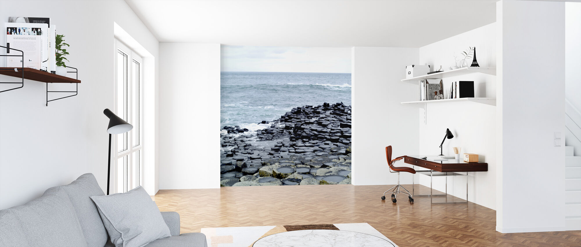 Giants Causeway in Antrim - Wallpaper - Office