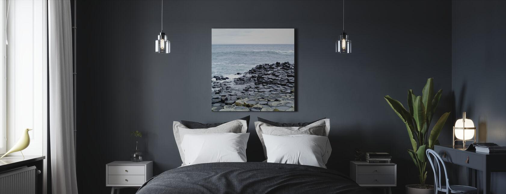 Giants Causeway in Antrim - Canvas print - Bedroom