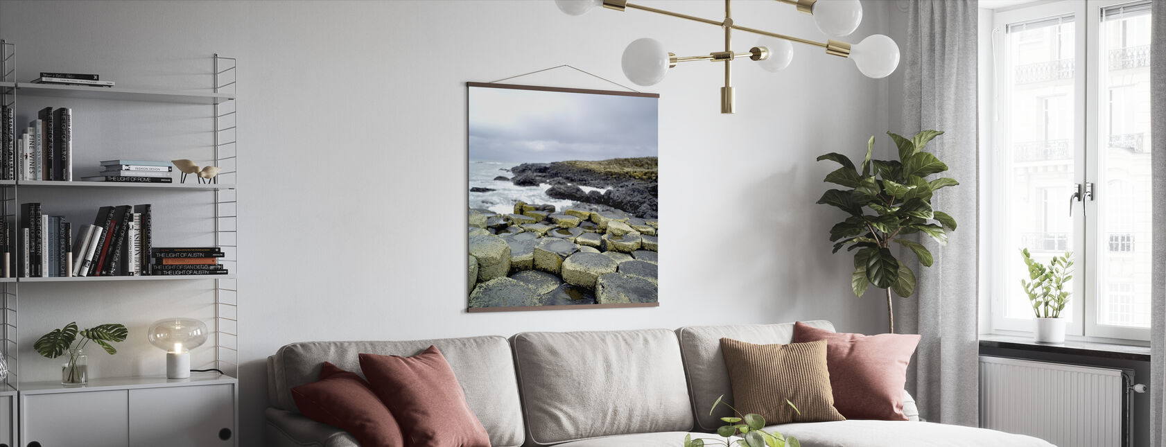 Giants Causeway - Poster - Living Room