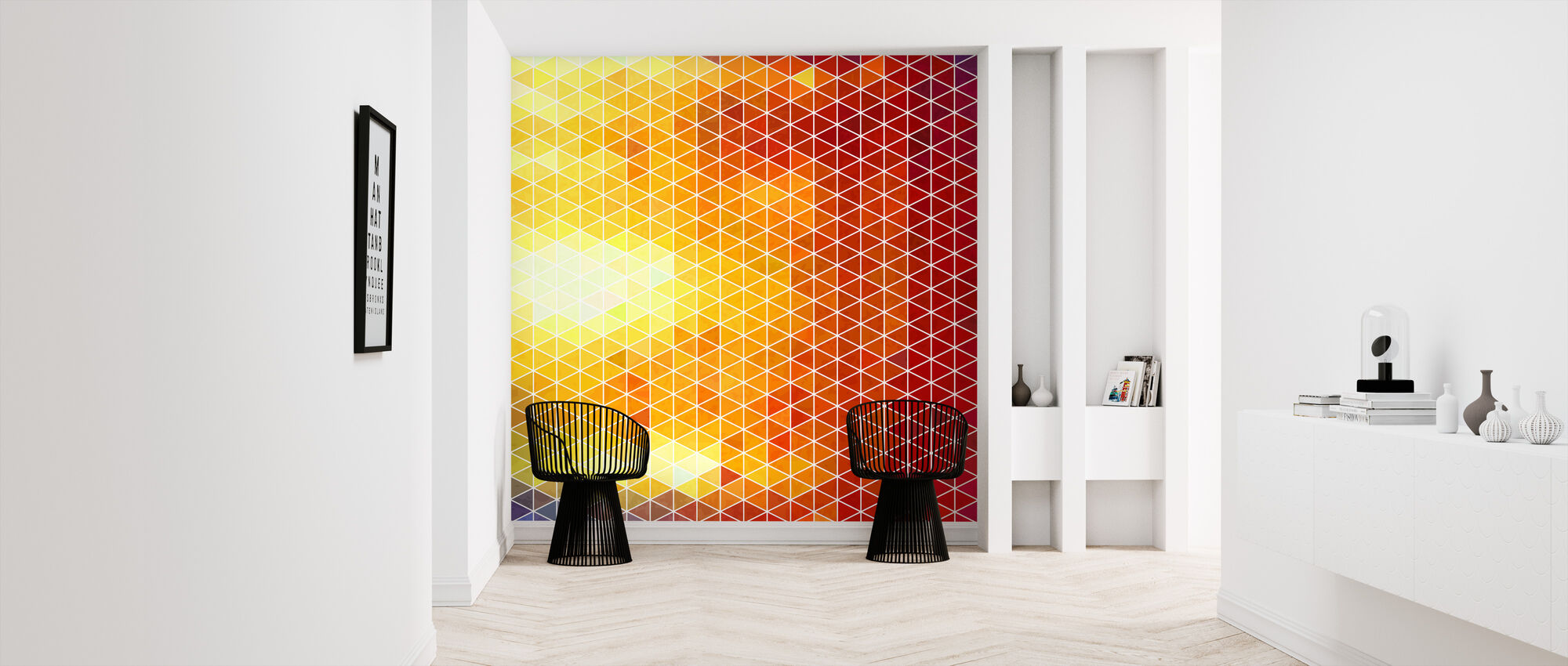 No Gradients - Wallpaper - Hallway