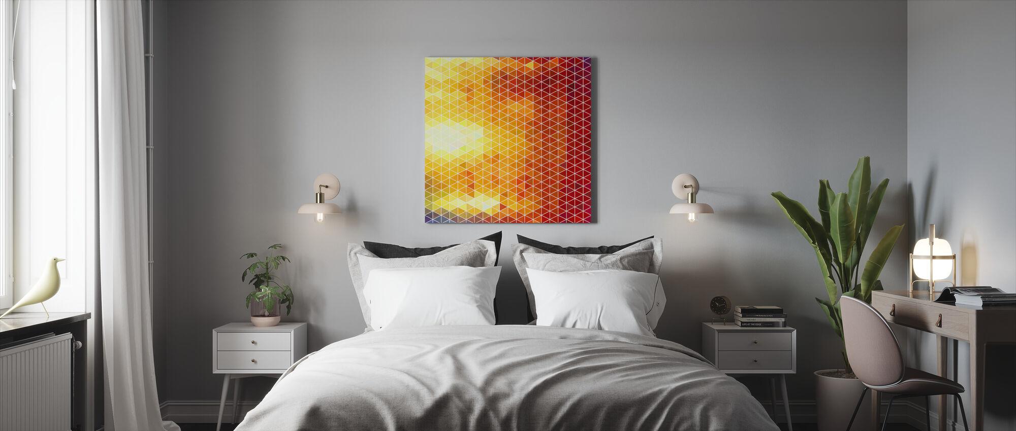 No Gradients - Canvas print - Bedroom