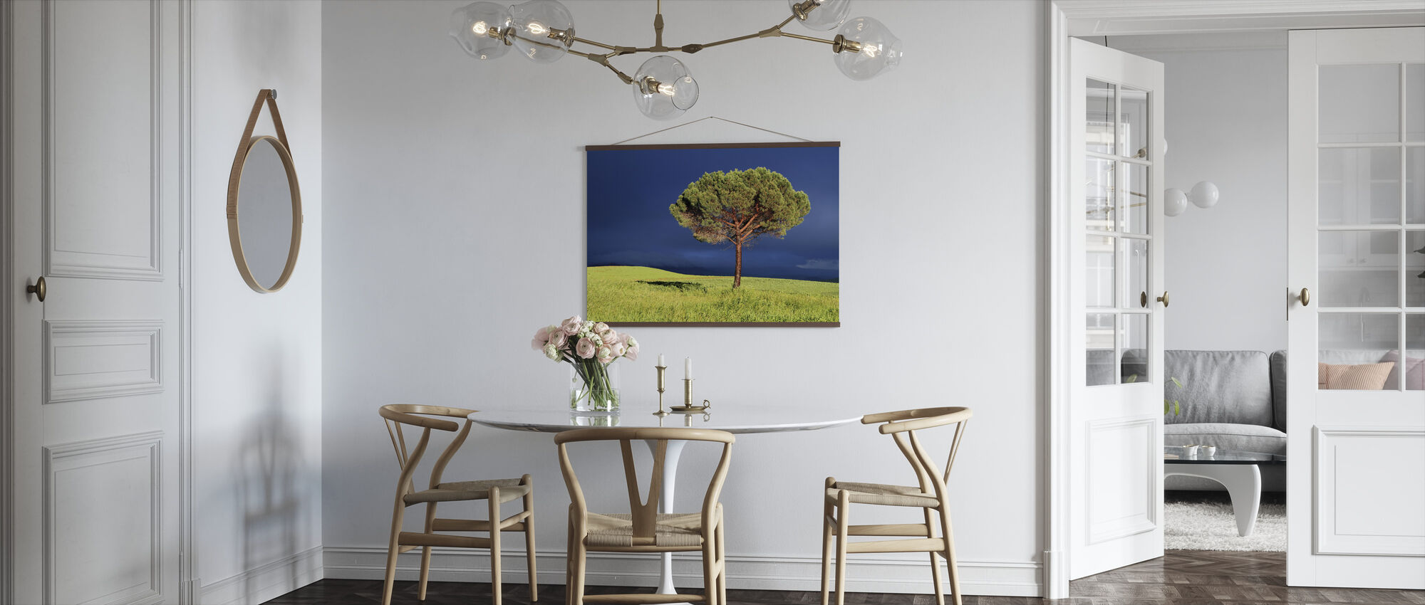 Mellan Sun och Storm - Poster - Kök